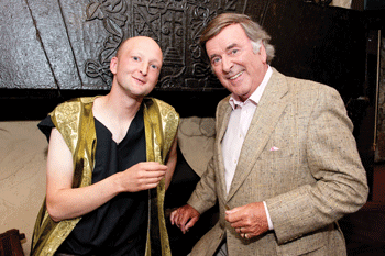 Jonathan Gunning & SIr Terry Wogan
